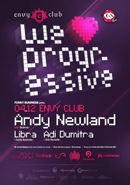 andy newland, libra, adi dumitra - envy club - poster