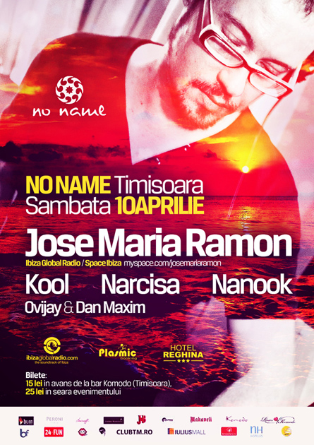 jose maria ramon - ibiza global radio resident - no name, timisoara