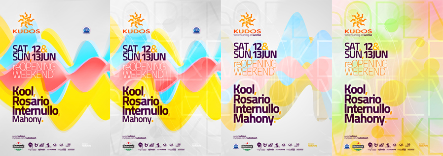 kudos beach - reopening weekend - kool, rosario internullo