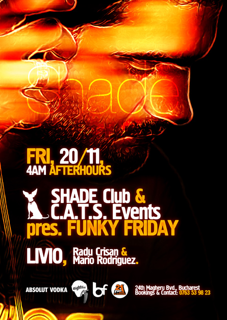 shade club (cats events) - livio