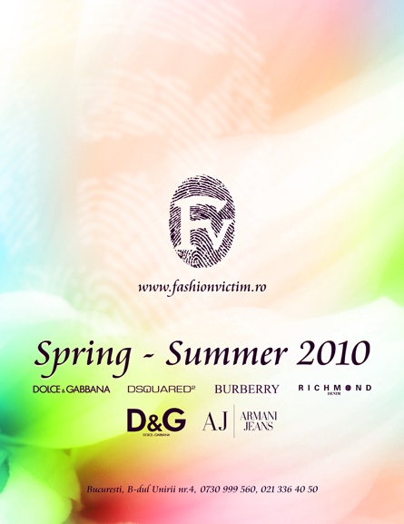 fashion victim - spring - summer 2010