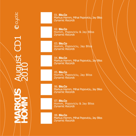 markus homm - promotional mix cd template