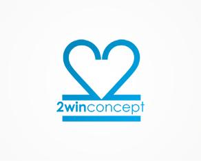 2win concept, freelance, graphic design, design, branding studio, logo, logos, logo design by Alex Tass