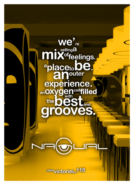 Nagual (restaurant, pub, club, lounge) Promotional press ad