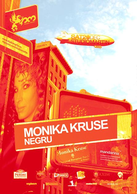 Studio Martin - Monika Kruse, Negru, poster & flyer