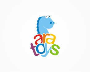 Ara toys, shop, e-shop, online shop, electronic shop, commercializing toys, logo, logos, logo design by Alex Tass