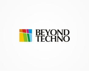 Beyond Techno, techno, electronic music, records label, logo, logos, logo design by Alex Tass