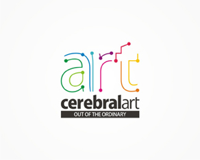 CerebralArt advertising agency logo design