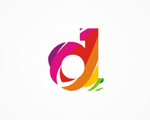 D monogram / logo design