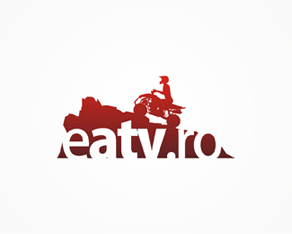 eatv.ro, ATV, buggy, 4wd, 4x4, vehicles, online shop, logo, logos, logo design by Alex Tass
