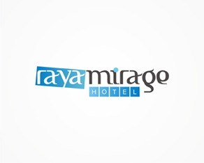 Raya Mirage, Indonesia, Indonesian, hotels chain, hotels, logo, logos, logo design by Alex Tass