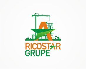 Ricostar Grupe, engineering, civil engineering, civil constructions, constructions, developer, logo, logos, logo design by Alex Tass