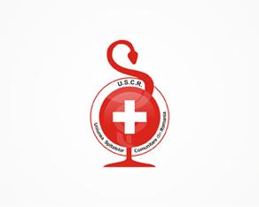 Uniunea Spitalelor Comunitare Romania, Romanian, community, hospitals, association, organization, logo, logos, logo design by Alex Tass