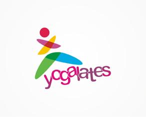 Yogalates, yoga, pilates, training, courses, logo, logos, logo design by Alex Tass