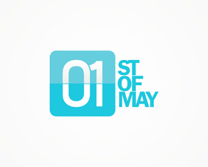 1st of May, online, portal, clubbing, party, parties, clubs, Mamaia, seaside, littoral, resort, station, logo, logos, logo design by Alex Tass