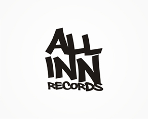 All Inn, international, electronic music, records label, logo, logos, logo design by Alex Tass