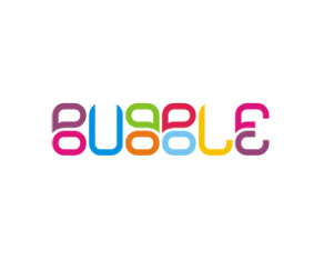 Bubble logo design