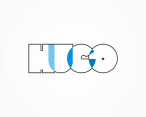 Hugo - experimental, abstract, concept logo, logos, logo design by Alex Tass
