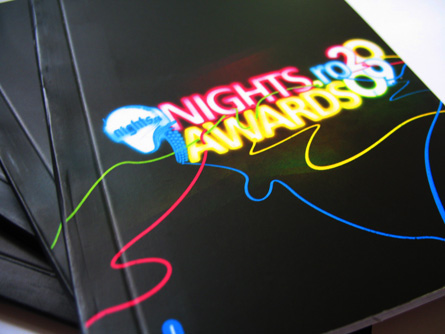 nights awards 2009 - booklet cover
