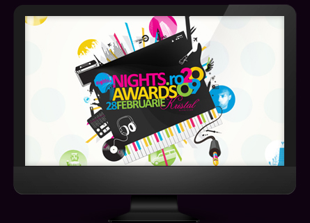 nights.ro awards 2009 - desktop wallpaper