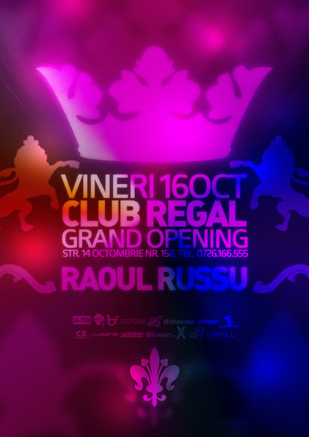 club regal - grand opening - raoul russu