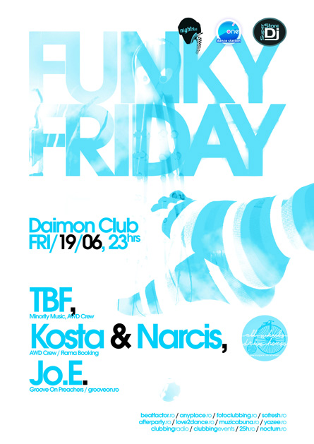 daimon club - nights.ro - funky friday 02: tbf, kosta & narcis, jo.e