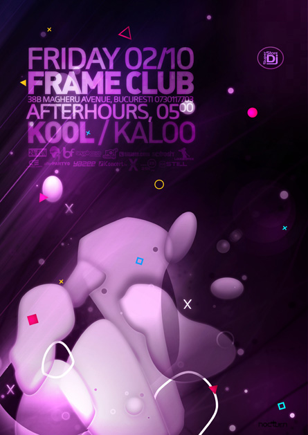 kool @ frame club - october afterhours