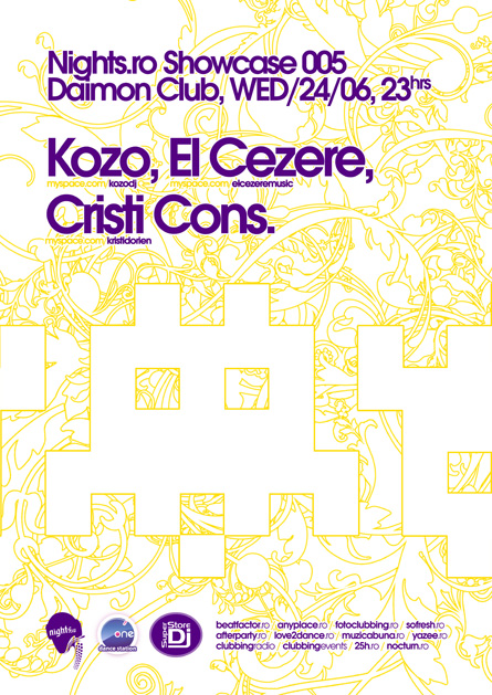 nights.ro showcase 005 - kozo, el cezere, cristi cons