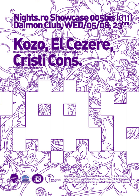 nights.ro showcase 005bis - kozo, el cezere, cristi cons