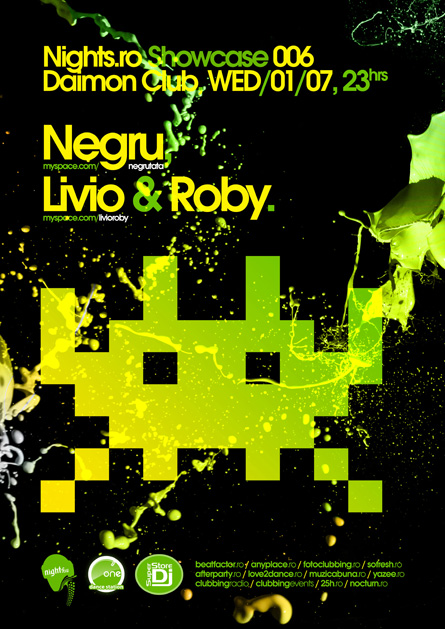 nights.ro showcase 006 - negru, livio, roby