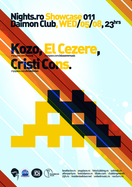 nights.ro showcase 011 - kozo, el cezere, cristi cons