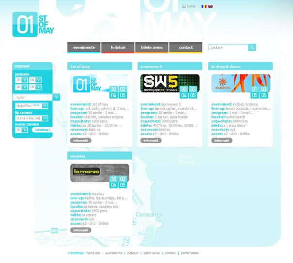 1stofmay website layout