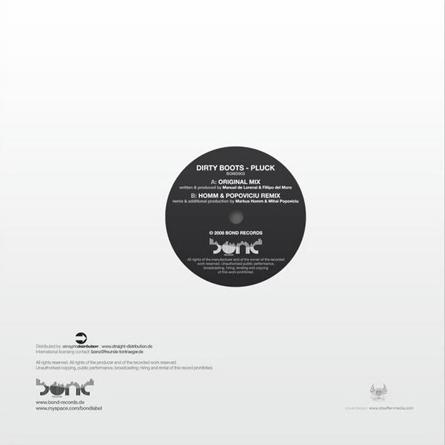 bond records: vinyl sleeve/case
