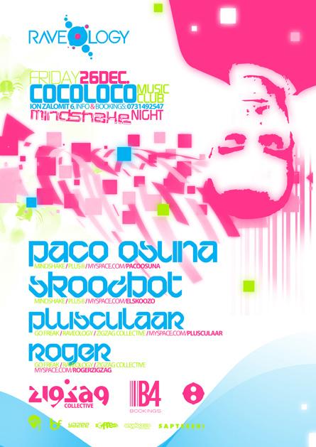 cocoloco - paco osuna, skoozbot, plusculaar, roger - zigzag, go freak, raveology