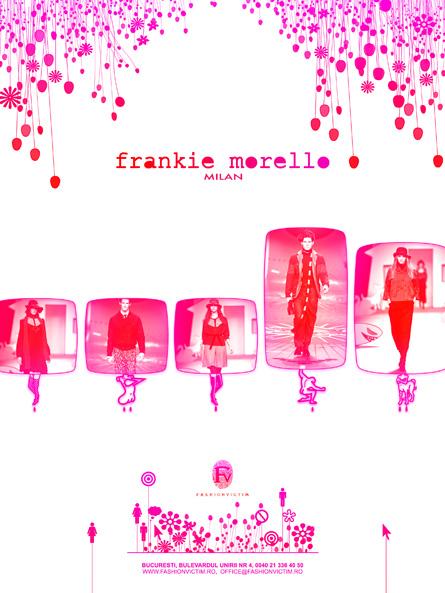 Fashionvictim, Frankie Morello, advert