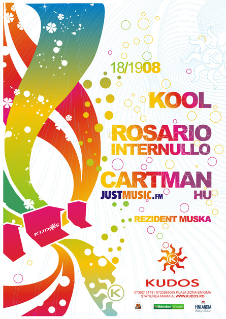 kudos beach - kool, rosario internullo, cartman - justmusic.fm