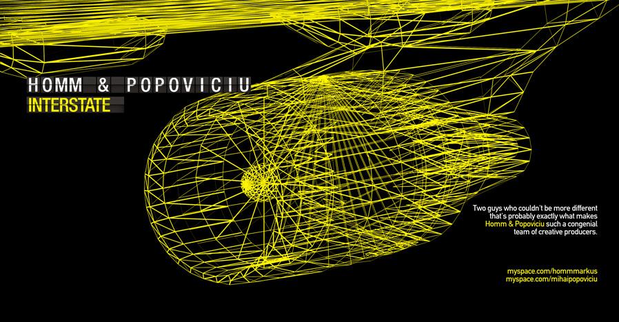 markus homm & mihai popoviciu - interstate front cover & inlay