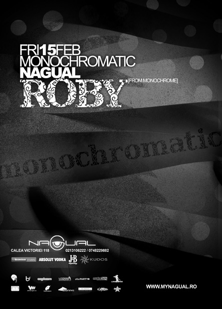 nagual roby, monochrome