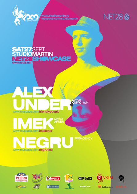 Studio Martin - Alex Under, Imek, Negru, poster