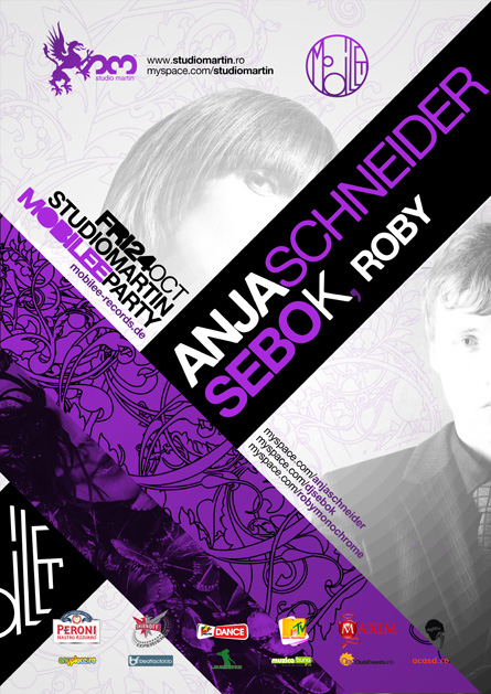 Studio Martin - Anja Schneider, Sebo K, Roby, poster