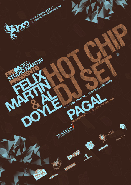 Studio Martin - Hot Chip, Pagal, proposal