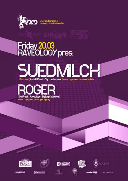 studio martin - suedmilch, roger - zigzag, go freak, raveology