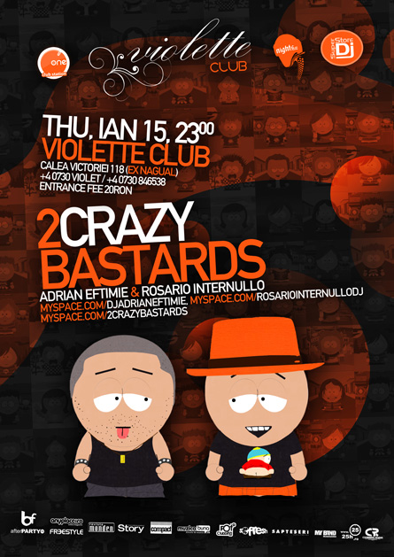violette - 2 crazy bastards