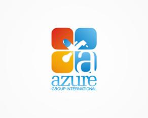 Azure Group International, pharmaceuticals, water purification, energy, company, logo, logos, logo design by Alex Tass