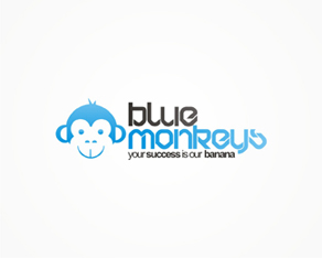 Blue Monkeys, Wien, Vienna, Austria, Europe, web design company, web design, web-company, web, studio, logo, logos, logo design by Alex Tass
