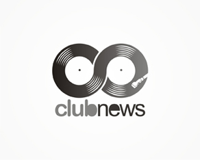 Clubnews, online community, organizers, organizing and reviewing, clubbing events, parties, locals, clubs, venues, clubbing, logo, logos, logo design by Alex Tass