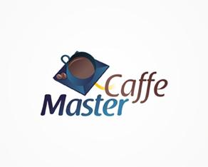 Master Caffe, university campus café, café, coffee, coffee place, lounge, logo, logos, logo design by Alex Tass