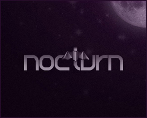 nocturn.ro freelance design studio logo design