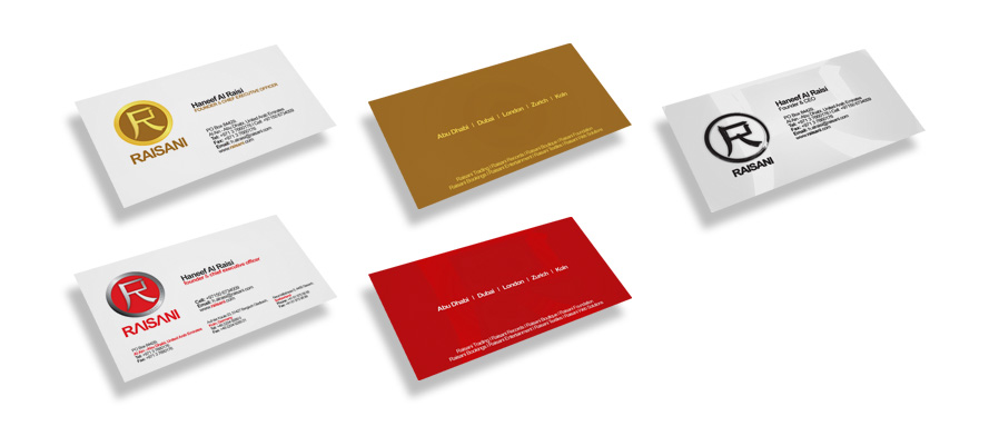 raisani business cards