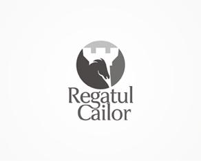Regatul Cailor, Horses kingdom, horses, kingdom, equitation, show jumping, practice, arena, logo, logos, logo design by Alex Tass